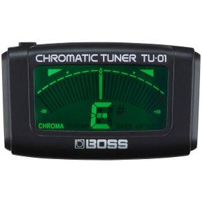 Afinador Cromático de Contato Compacto TU-01 - Boss