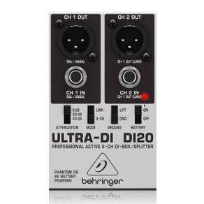 Behringer DI20 Direct Box Ativo DI-20 2 canais - Behringer