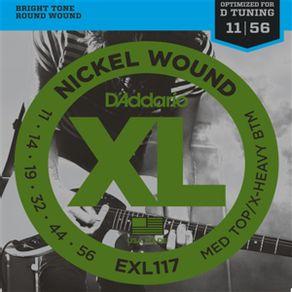 Encordoamento Para Guitarra 011 EXL-117 - D Addario