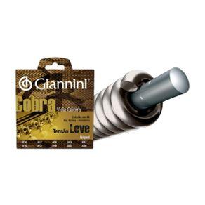 Encordoamento Tensão Leve Niquel Para Viola GESVNL - Giannini