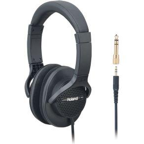 Headphone Monitor Alta Fidelidade Preto RH-A7 - Roland