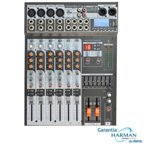 Soundcraft SX802FX USB Mesa de Som Analógica USB/Efx SX802FX USB - Soundcraft