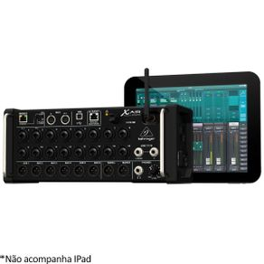Behringer XR18 Mesa de Som Digital 18 IN e 18 out via USB X Air XR-18 - BEHRINGER