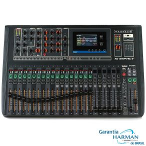 Mesa de som Digital SI Impact - Soundcraft