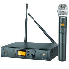 Staner SRW48S Microfone Sem Fio de Mão Digital 48 Canais SRW-48S Mão - Staner