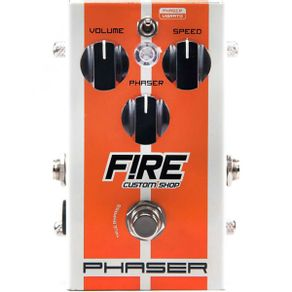 Pedal Phaser Fire Pedal Phaser/Vibrato 1005 - Fire