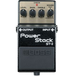 Boss Power Stack ST2 Pedal Power Stack Para Guitarra ST-2 - Boss