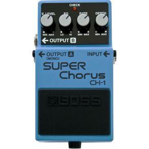 Super Chorus CH1 boss Pedal Super Chorus Para Guitarra CH-1 - Boss