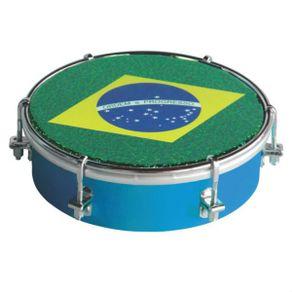 Tamborim Corpo de Madeira Pele Brasil TT-400 - Torelli