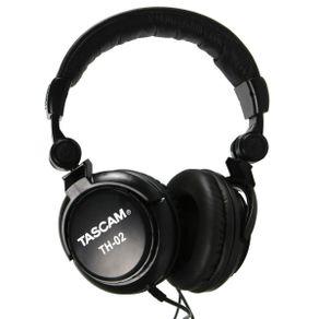 Fone De Ouvido Black TH-02 B - Tascam