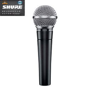 Microfone Shure SM58 LC Microfone Vocal Dinâmico Cardioide SM-58 LC - Shure