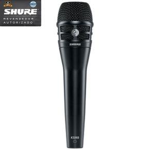 Microfone Shure KSM8 Microfone Vocal Dinâmico Cardioide KSM-8/B - Shure