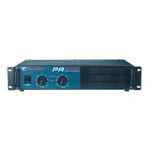 Amplificador Potência 600W PA-1200 - New Vox